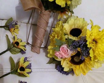 Sunflower bouquet or decor