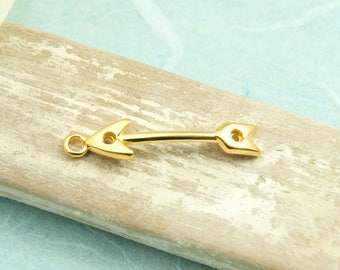 1 pcs arrow 30mm gold plated #4065