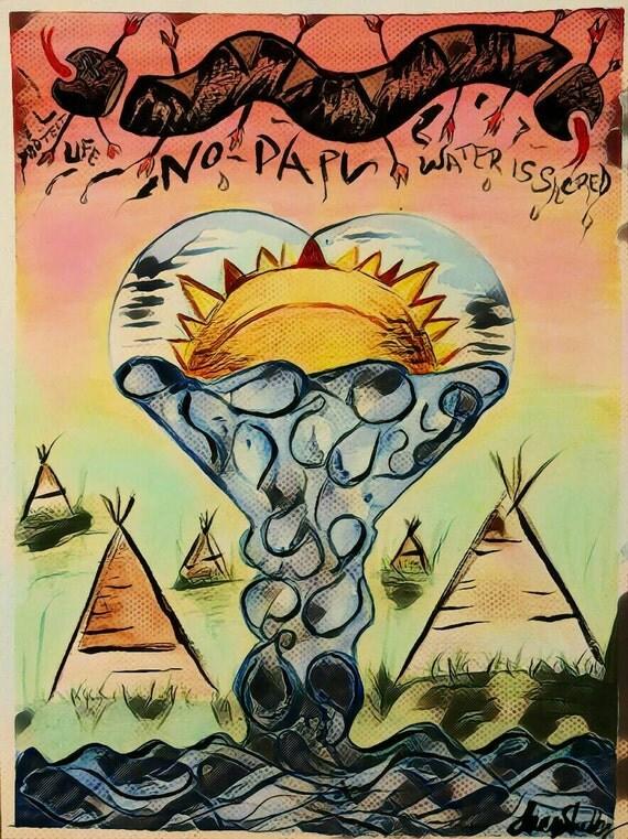 Standing Rock 8×10 Charity Print