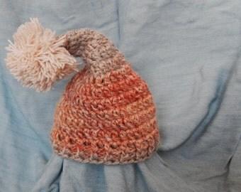 Sleepy Gnome Baby Hat