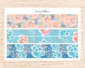 Snow Queen PERSONAL washi (matte planner stickers, Filofax, Kikki K, Websters Pages, Color Crush)