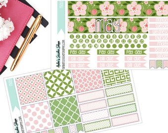 Bella Rose May Monthly Kit for Happy Planner