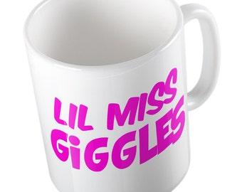 Lil' miss giggles mug