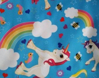 Bee's and Unicorns cloth diaper - AIO cloth diaper - one size cloth diaper - Newborn cloth diaper - hemp bamboo - wahm - rainbow baby