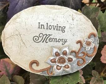 "Miniature Garden Sign - ""In Loving Memory"""