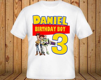 Toy Story Birthday Shirt