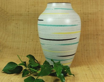awesome early 1960's west german mid century VASE bay keramik