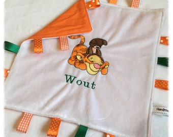 Baby Tigger with Teddy Taggy Blanket