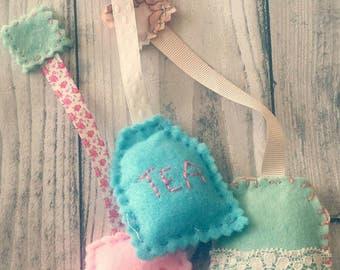 Handmade Vintage Tea Bags