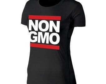 """Women's """"Non GMO"""" Tee"""