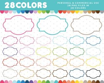 Oval border frame, Clip art labels, Label clipart, Digital frames, Clipart frames, Scrapbook frame, Frame clipart, Label frames, CL-1215