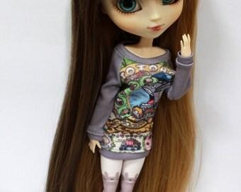 Sweater Studio Ghibli Totoro, Kiki, Chihiro for Pullip and MSD Slim