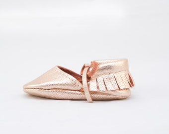 ROSE GOLD    mary jane moccasin