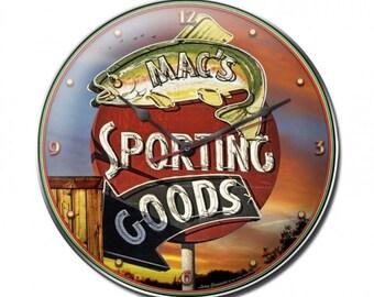 Sporting Goods Clock