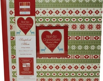 First Edition Nordic Christmas  12 x 12-inch Scrapbook Album