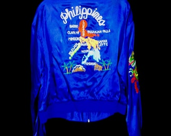 Vintage Philippines Sukajan Style Jacket