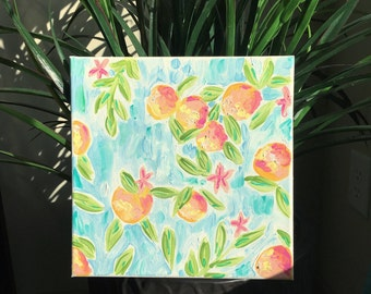 Fresh Squeezed Canvas Painting