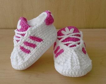 zapatilla adidas a crochet