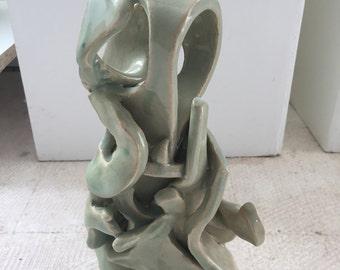 Light Green Sculpture