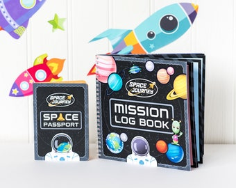 Space Activity Kit, Space Journal, Space Toy, Outer Space Toy, Space Activity Set, Creative Space Activity, Space Scrapbooking, Space Gift