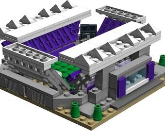 Mini Orlando City SC Stadium Custom Brick Set