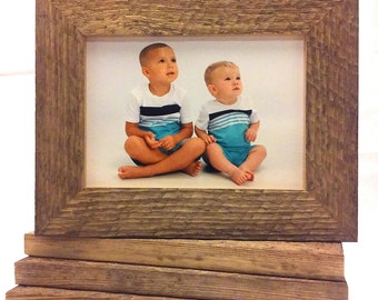 Barn Wood Style Picture Frame - Rustic BarnWood - 5x7 Frame