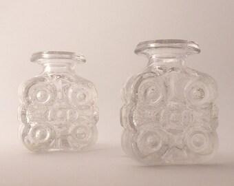 Two small vases Skruf Lars Hellsten