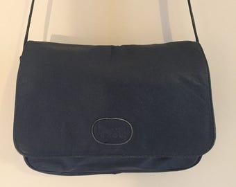 A Fabulous Vintage Leather Shoulder Bag, Made in France