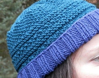 Hand Knit Hat, Women's