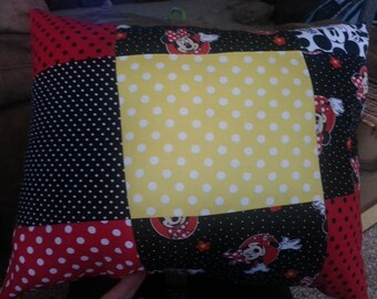 quilted top pillow