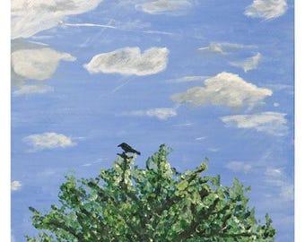 Midsummer Crow, Limited Edition Art Print