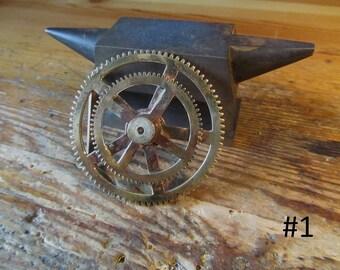 Belt Buckle Steampunk mechanic clockwork
