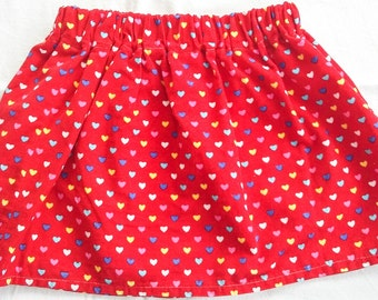 Stunning Red Babycord Skirt Size 2T