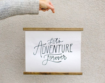 Adventure Forever Wall Hanging