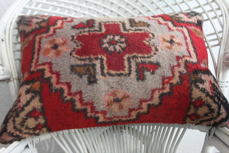 bohemian long lumbar pillows washable throw pillows hanmade