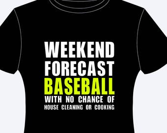 Weekend Forecast Baseball