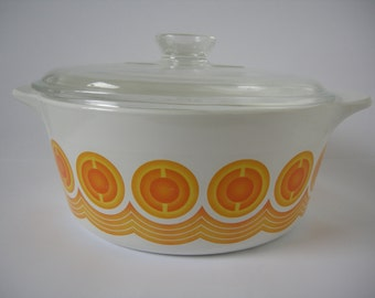 Pyrosil large casserole dish, made in the Netherlands 4.5 litres