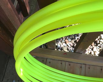 UV Yellow Polypro Hoop in 3/4