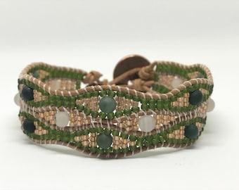 Chan Luu Inspired Wavy Wrap Bracelet