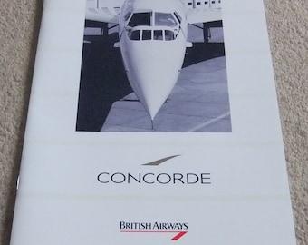 Concorde British Airways genuine presentation pack