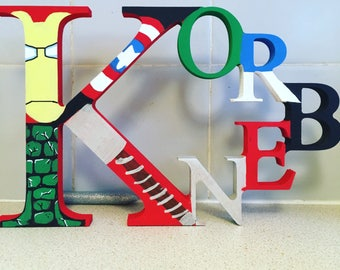 Freestanding name etsy wooden names name signs personalised plaques new baby gifts childrens gifts negle Images