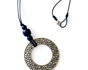BEA - Bronze Charm Necklace