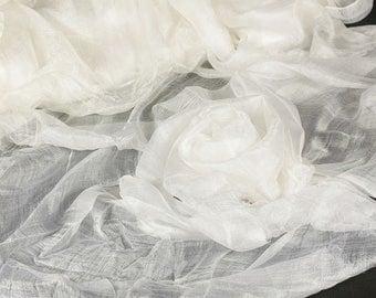 Margilan gauze, silk 100% for felting, 1m