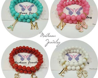 Order for You and Your princess original bracelets with any letters you want