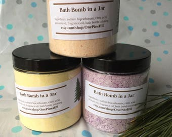 Bath Bomb in a Jar, Energy Scent