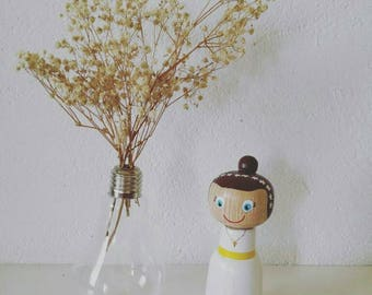 Figure girl communion