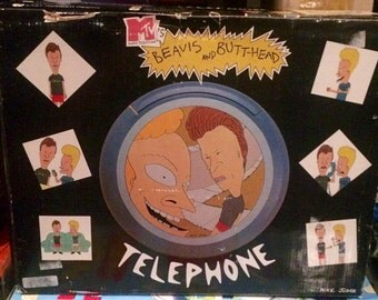 Vintage Beavis & Butthead Phone AS-IS Non Working