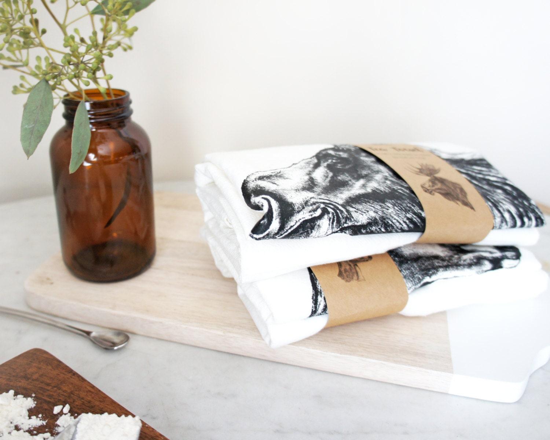 Tea Towel Set | Flour Sack Tea Towel | Dish Cloth | Housewarming ...