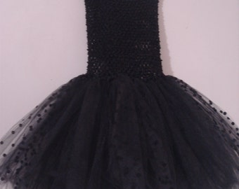 Black Tutu, one size fits 2 to 6 years