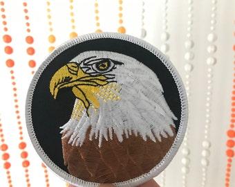 Vintage Bald Eagle Portrait Patch